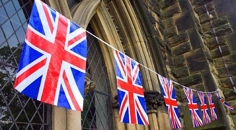 イギリスの国旗の画像