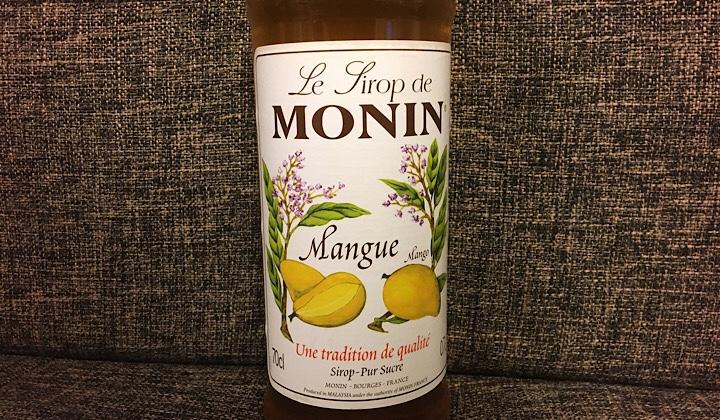 モナンマンゴーシロップを自宅で撮った画像1